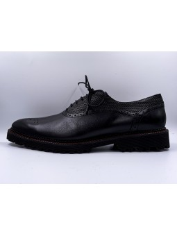 OXFORD BALCK/RED
