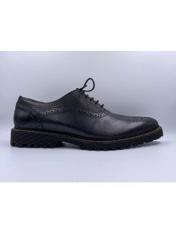 OXFORD BALCK/YELLOW